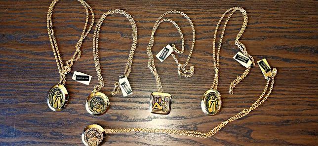 Naszyjniki w kolorze złota