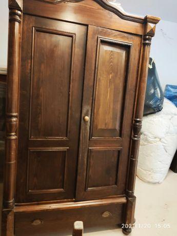 SZAFA - dwie stare ładne drewniane szafy