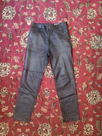 Кожаные штаны Versace classic v2