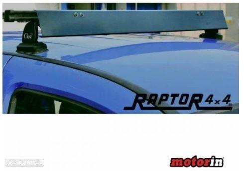 """Defletor de Vento Universal """"Raptor 4×4"""" p/ Barras e Grades de Tejadilho"""