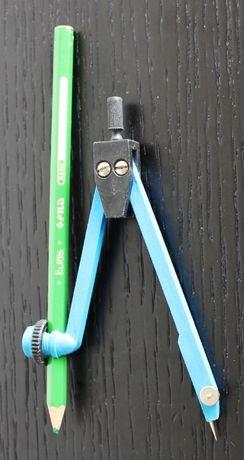 Compasso escolar para lápis ou caneta (COMO NOVO)