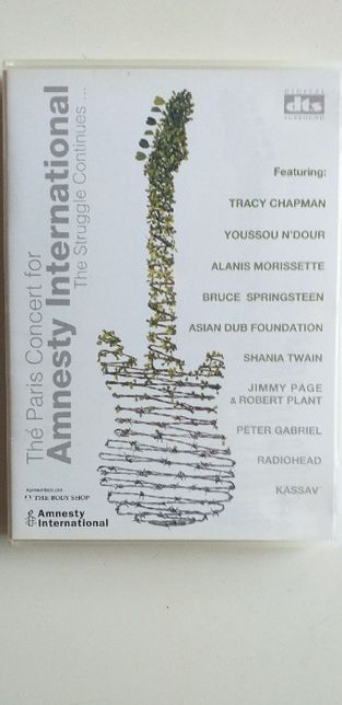 The Paris Concert for Amnesty International (1998) DVD