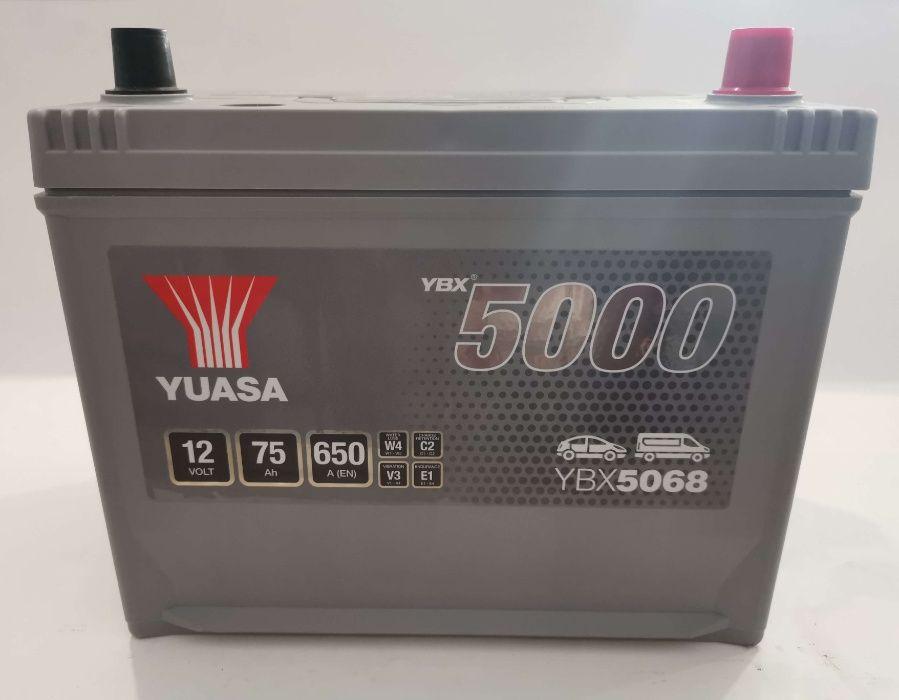 Akumulator YUASA YBX5068 75Ah 650A Promocja!!!