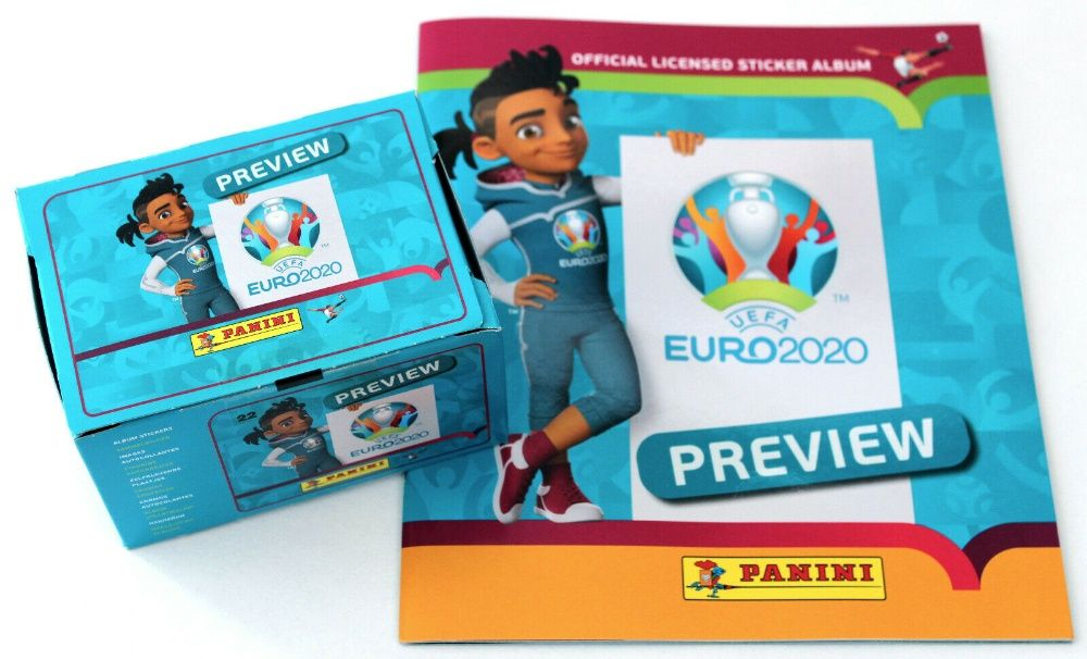UEFA EURO 2020 PREVIEW da Panini - Cromos avulso