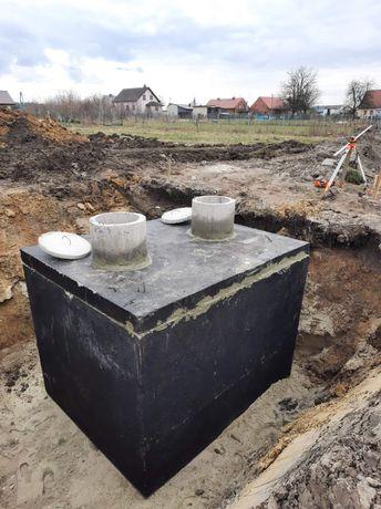 Zbiornik betonowy dwukomorowy szambo szamba Bielsko Biała Rybnik Tychy