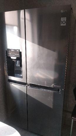 Lodówka LG Smart Side by Side z kostkarką GSJ761pzxv