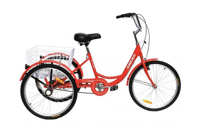 Трёхколёсный велосипед Ardis City Line 24 2021 | 2 цвета