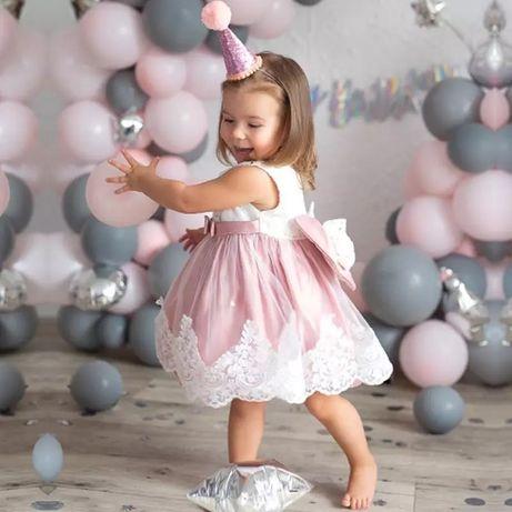 Платье на девочку 1 2 3 года детское годик дитяче плаття 74 80 86 90