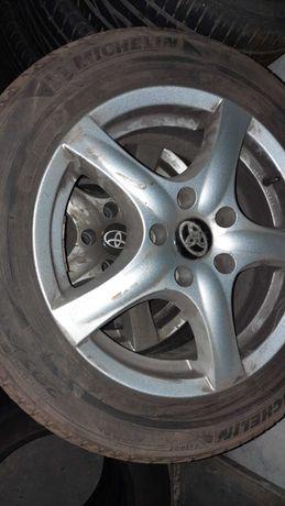Koła, Felgi Ronal Toyota 6,5x16 ET40 Michelin Primacy HP 205/55R16 91V