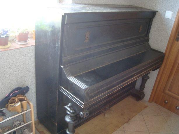 ED SEILER LIEGNITZ zabytkowe pianino z 1893 r w dobrym stanie