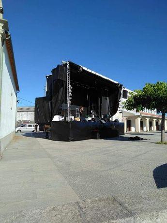 camião palco