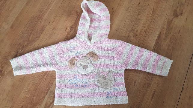 92 cm 1,5 - 2 lata NEXT ciepła bluza sweter