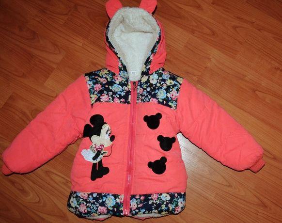 Куртка весна\осень на девочку 2-4 года