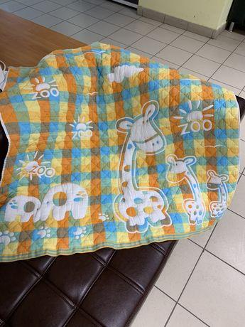 Одеяло покрывало хлопковое 105х110