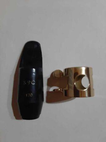 Ustnik Selmer S90  170 ebonit z ligaturką