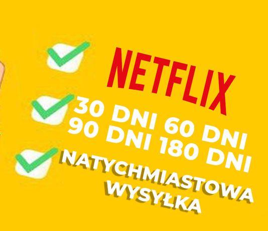 NETFLIX 30 dni - UHD 4K - TV/PC/PS/XBOX w 30 sekund. Polskie