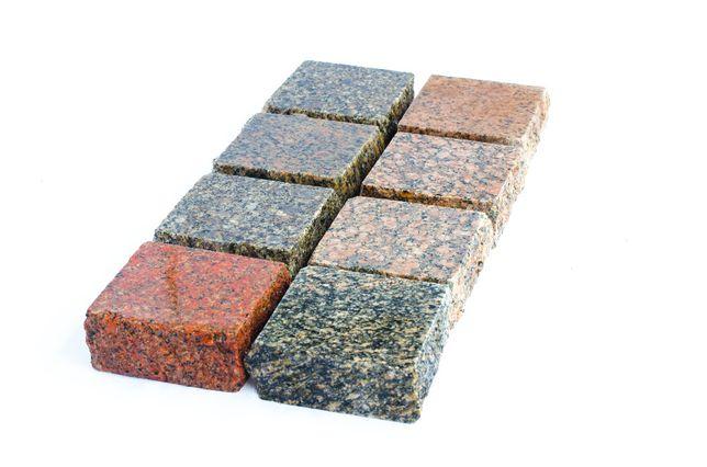 kostka granitowa/ starobruk/ mozaika 10*10*4 cm