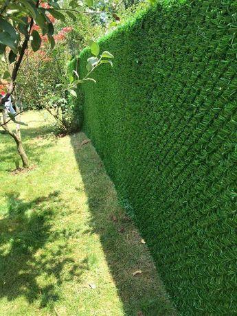 Декоративный Зелёный Забор! Живая изгородь! Ячейка 40*40 мм!!!