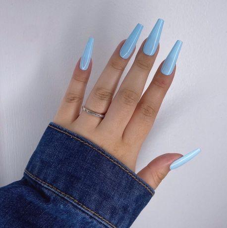 Tipsy Błękitne Niebieskie Ręcznie Robione