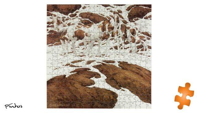 puzzle pintos konie 300 elementów impossible