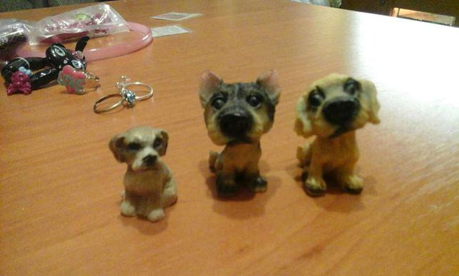pieski figurki