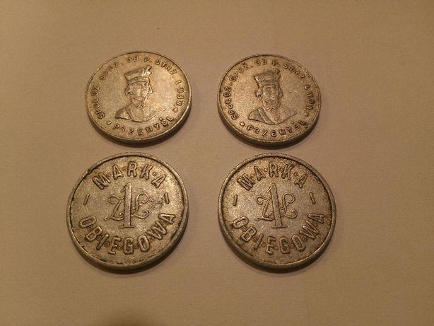 1 marka obiegowa 38 pułk strzelców moneta