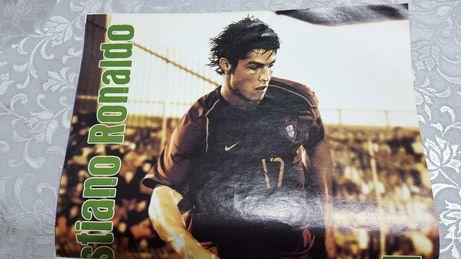 Poster Cristiano Ronaldo CR7 NOVO