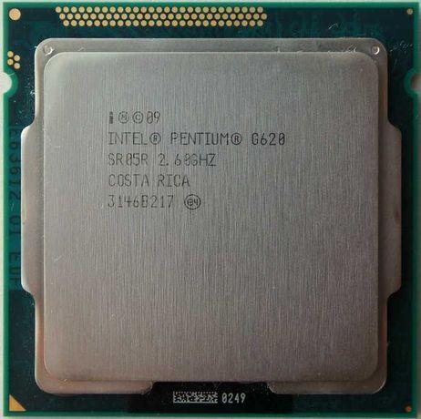 Processador Intel Pentium G620 +  cooler Intel