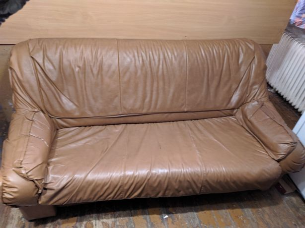 Stare meble: fotel, kanapa mterac
