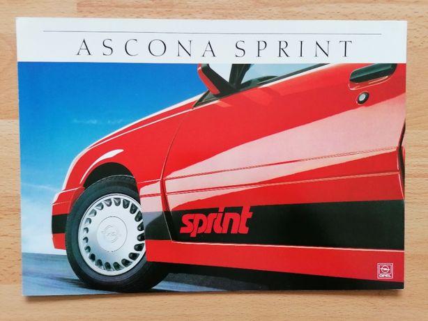 Prospekt OPEL Ascona Sprint