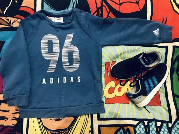 Кроссовки,кофта adidas 4г