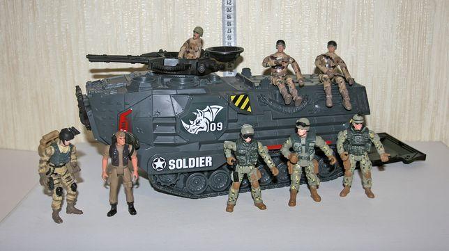chap mei soldier 0802754.8 БТР + 8 солдат