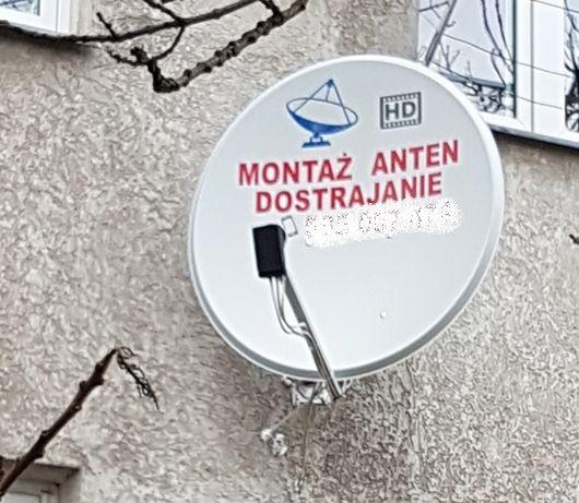 - Montaż Anten Satelitarnych Naziemnych D-VBT Ustawianie Anteny Wrocła