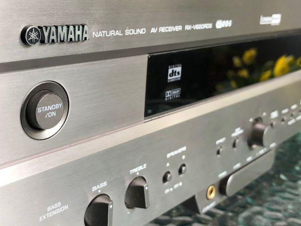Amplituner YAMAHA RX-V620, DVD CAMBRIDGE Azur, Kolumny B&W 602 S3