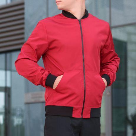 Мужская Куртка Бомбер кофта,ветровка 6 цветов