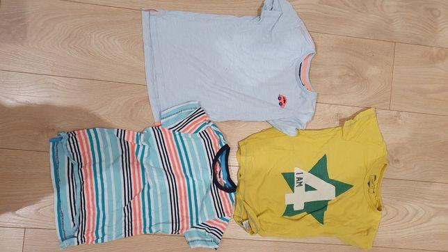 Koszulki dla chłopca rozmiar  82