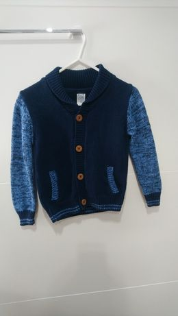 Cool clab ,sweter rozpinany 122