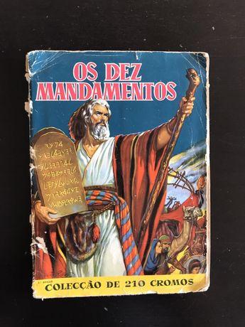 """Caderneta Cromos Completa """"os dez mandamentos"""""""