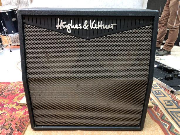 Kolumna 4x12 Hughes & Kettner (Triamp) na głośnikach Greenback