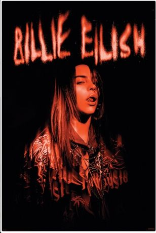 Posters novos Billie Eilish - Sparks