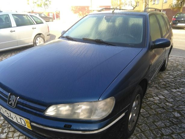 Peugeot 406 2.1 td com avaria