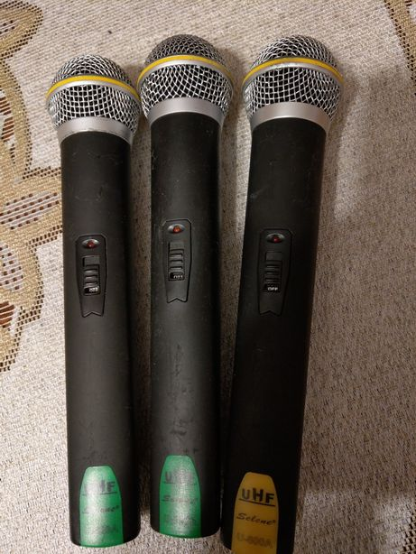Mikrofony Selene U800 700/800mhz