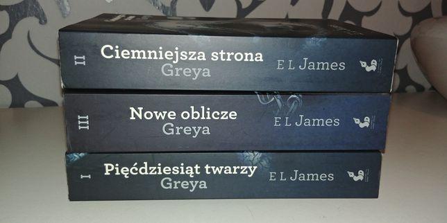 Seria Grey pięćdziesiąt twarzy greya ciemniejsza strona grey nowe obli
