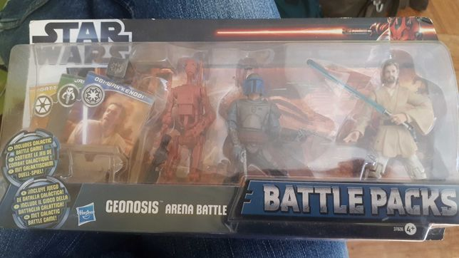 Star wars battle pack  фигурки