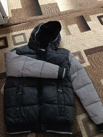 Куртка зимняя на 12-14 лет.