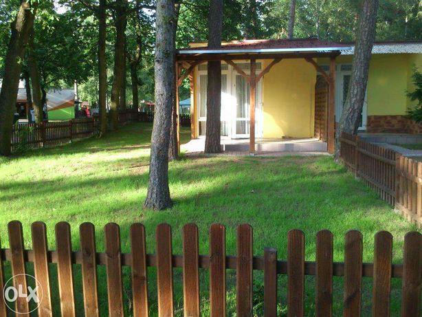 OGRODZONY (8 osób) 2 pokojowy domek w Skorzęcinie