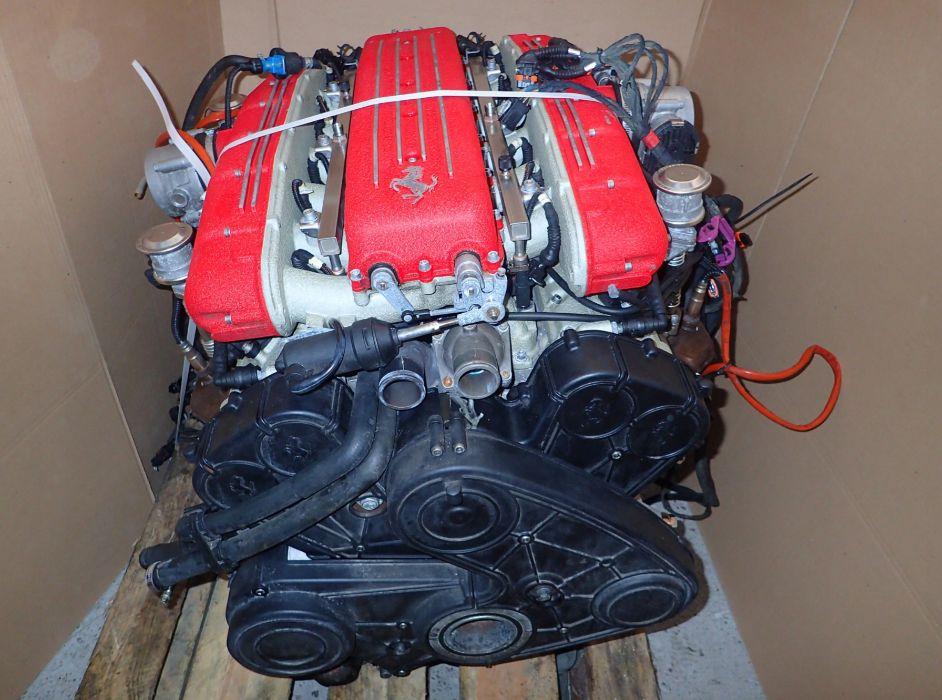 Motor Ferrari 612 scaglietti