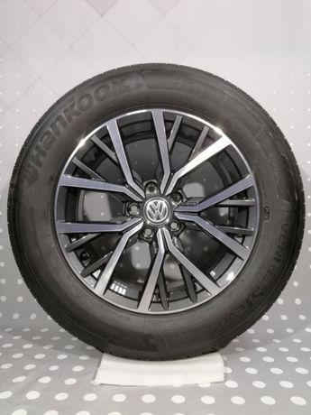 17 - дюймовые диски VW Tiguan дизайн Tulsa 7x17 ET40 215/65 R17 99Y