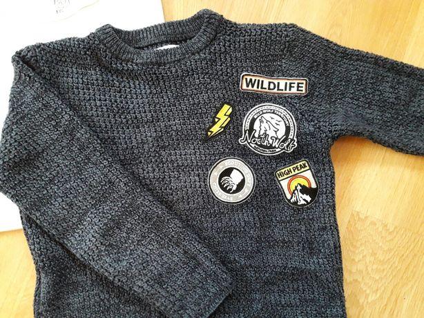 Sweterek chłopięcy firmy Zara