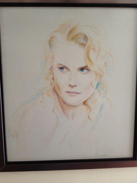 Pinturas/retratos a óleo , pastel , carvão,